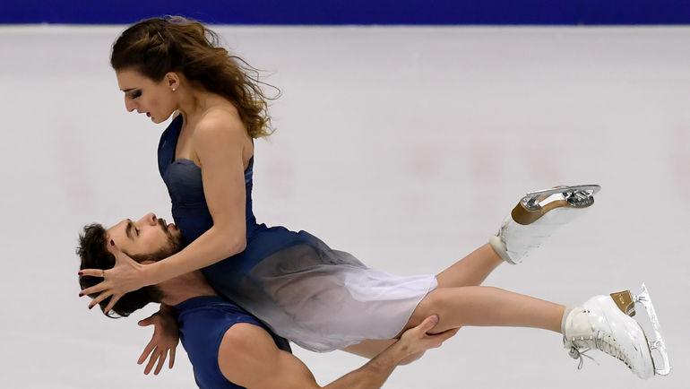 Габриэла ПАПАДАКИС и Гийом СИЗЕРОН. Фото AFP