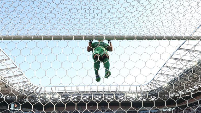 """Вратарь """"Ниццы"""" Йоан КАРДИНАЛЬ. Фото AFP"""