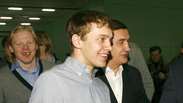 Артемий ПАНАРИН и Валерий БРАГИН. Фото Татьяна ДОРОГУТИНА