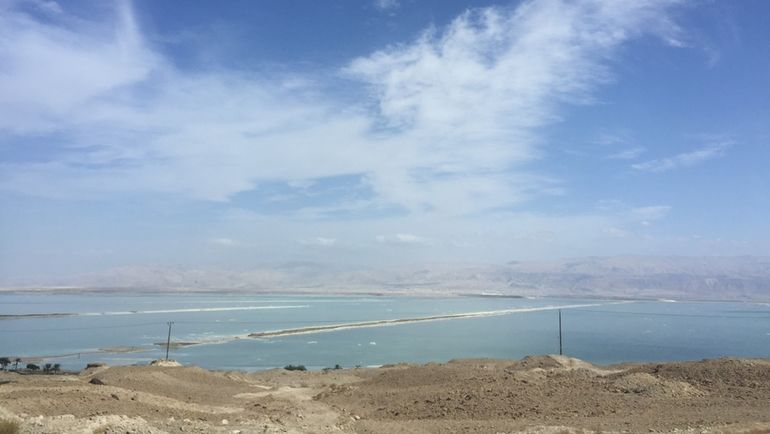 "Мертвое море Израиля. Фото ""СЭ"""