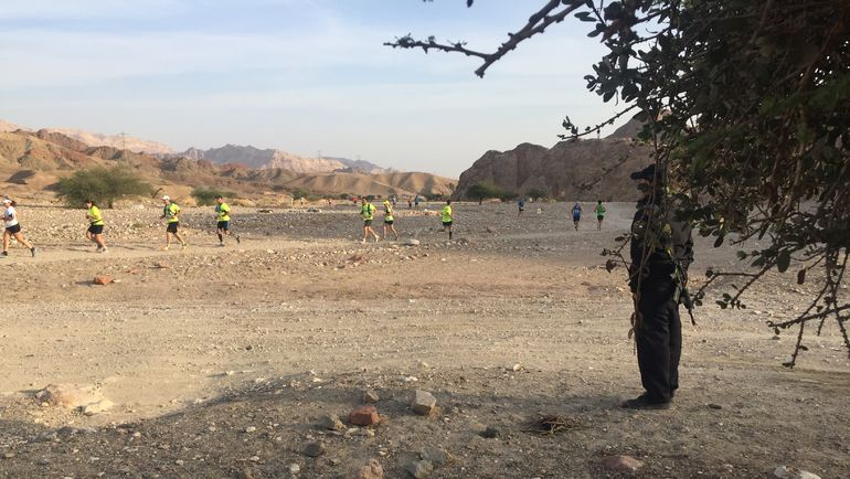 Пятница. Эйлат. Пустынный марафон. Фото «СЭ»