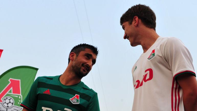 Александр САМЕДОВ (слева) и Алексей МИРАНЧУК. Фото Никита УСПЕНСКИЙ, «СЭ»