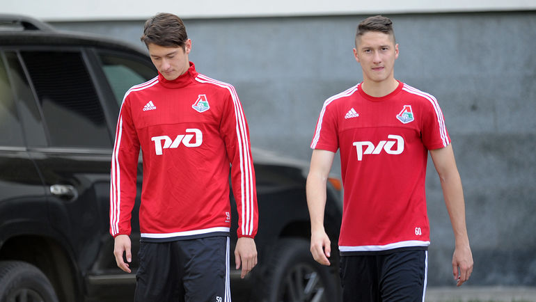 "Алексей (слева) и Антон МИРАНЧУКИ. Фото Алексей ИВАНОВ, ""СЭ"""