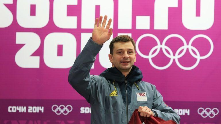 Мартинс ДУКУРС со сборной Латвии пропустят ЧМ-2017 в Сочи. Фото AFP