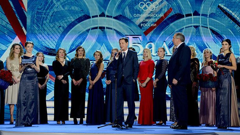 Четверг. Москва. Бал олимпийцев России. Фото Наталья ПАХАЛЕНКО ОКР