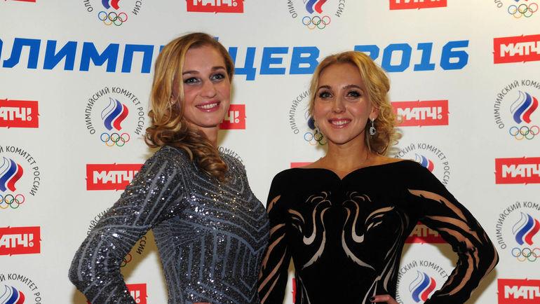 "Екатерина МАКАРОВА (слева) и Елена ВЕСНИНА. Фото Федор УСПЕНСКИЙ, ""СЭ"""