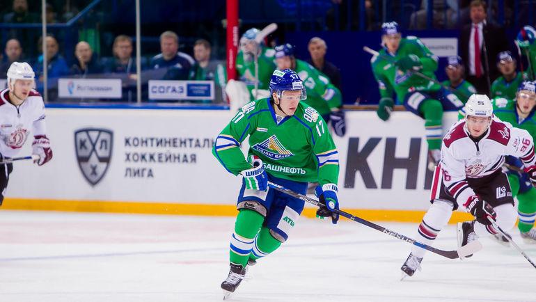 Кирилл КАПРИЗОВ (№17). Фото photo.khl.ru