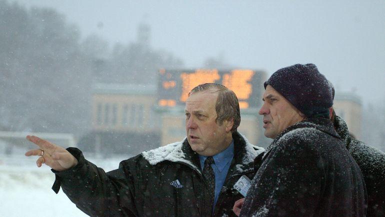Андрей БУДОГОССКИЙ и Николай ЛЕВНИКОВ. Фото Александр ВИЛЬФ