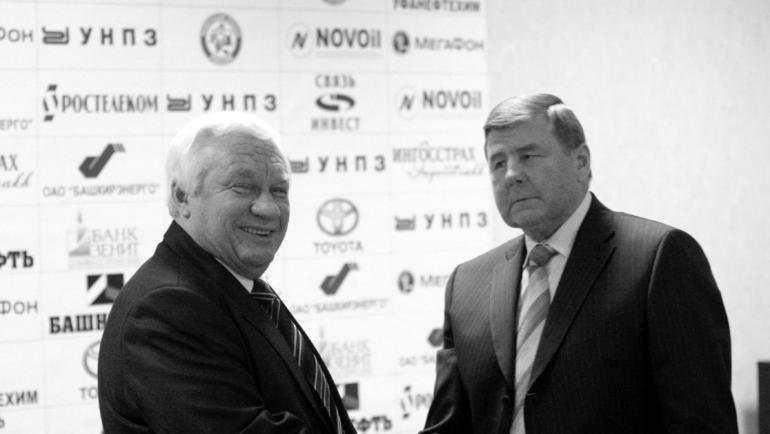 """Сергей МИХАЛЕВ и Геннадий ЦЫГУРОВ. Фото """"СЭ"""""""