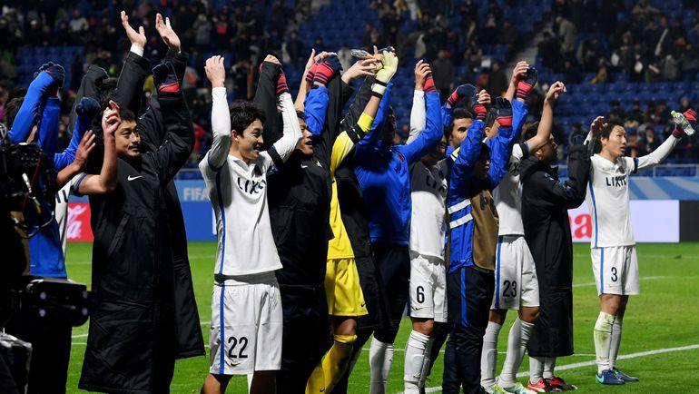 """""""Касима Антлерс"""" уже ждет """"Реал"""" в финале. Фото AFP"""