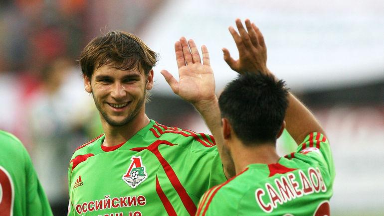 Бранислав ИВАНОВИЧ (слева) и Александр САМЕДОВ. Фото Александр ФЕДОРОВ, «СЭ»