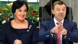 Лариса ГУЗЕЕВА и Олег ЗНАРОК.