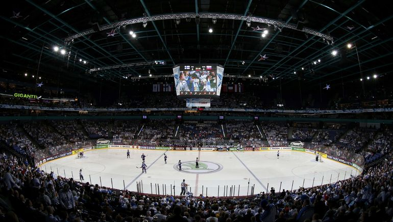 """Хартвалл Арена"" - домашний стадион ""Йокерита"". Фото AFP"