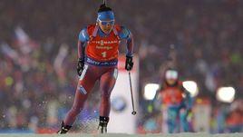 Сегодня. Нове-Место. Татьяна АКИМОВА финишировала третьей.