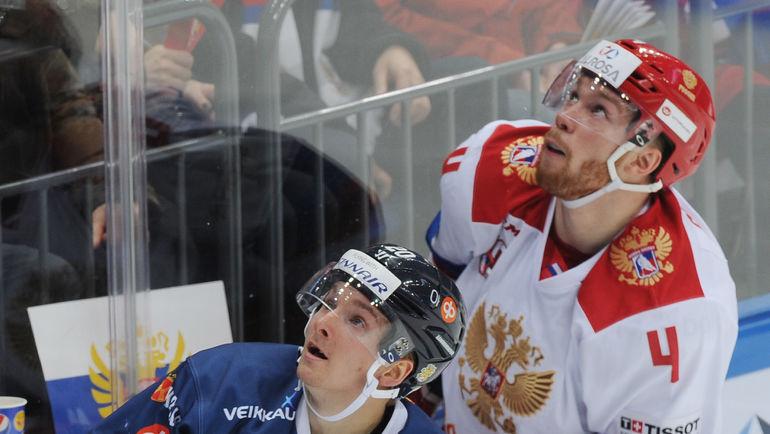 Владислав ГАВРИКОВ (№4) против Сакари МАННИНЕНА. Фото Александр ФЕДОРОВ, «СЭ»
