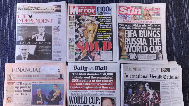 Стоит ли верить британским газетам? Фото REUTERS