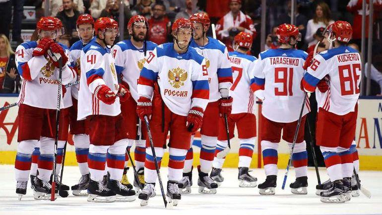 24 сентября 2016 года. Торонто. Канада - Россия - 5:3. Эмоции россиян после поражения. Фото REUTERS