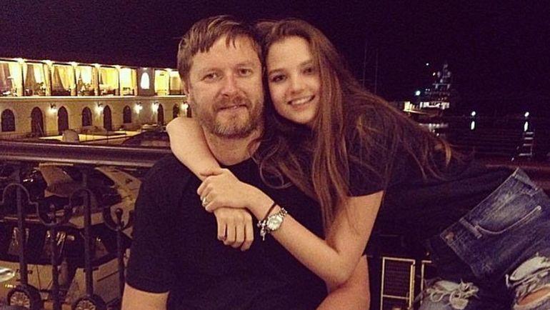 Евгений КАФЕЛЬНИКОВ с дочерью Алесей. Фото www.instagram.com/alesyakaf/