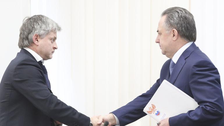 Игорь ЕФРЕМОВ и Виталий МУТКО. Фото РФС