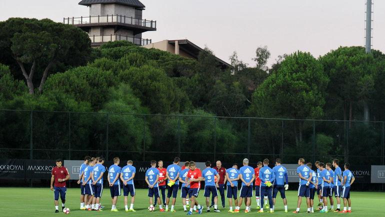 Сборная России провела сбор и матч в Турции в сентябре. Фото Алексей ИВАНОВ, «СЭ»
