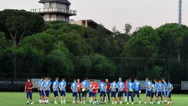 Сборная России провела сбор и матч в Турции в сентябре.