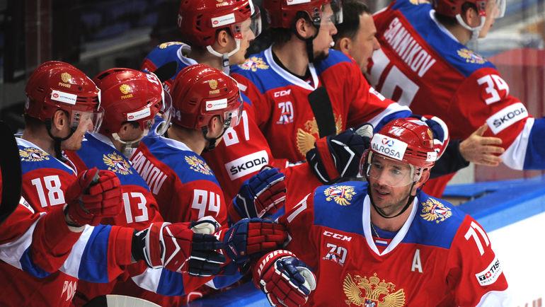 Илья КОВАЛЬЧУК празднует гол. Фото Александр ФЕДОРОВ, «СЭ»
