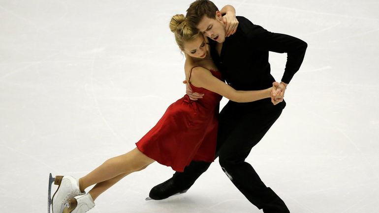 Виктория СИНИЦЫНА и Никита КАЦАЛАПОВ. Фото AFP