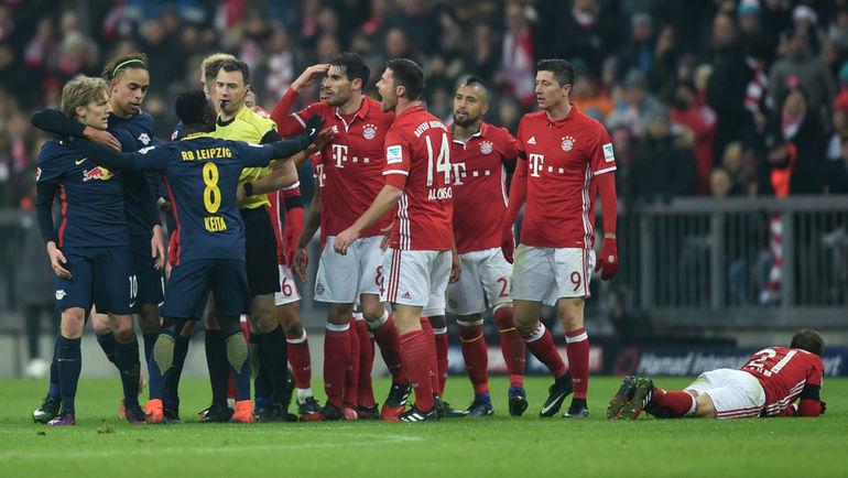 Футболный матч бавария- германия