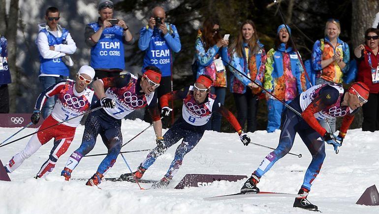Шесть лыжников России из Сочи-2014 отстранены. Имена не называются. Фото AFP