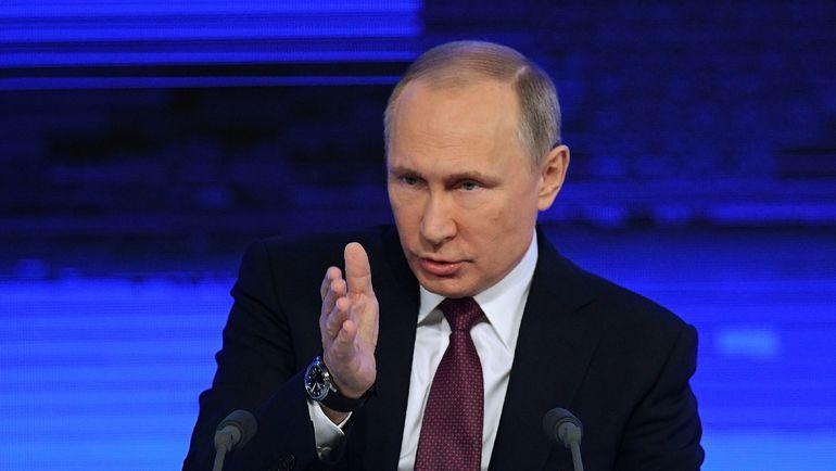 Сегодня. Москва. Владимир ПУТИН. Фото AFP