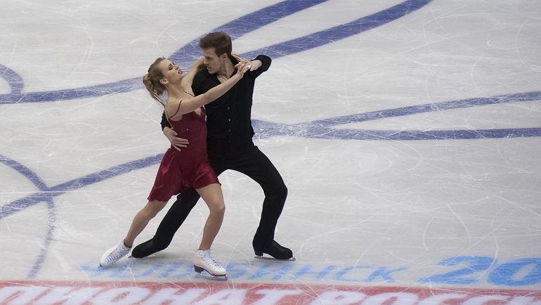 Виктория СИНИЦИНА и Никита КАЦАЛАПОВ. Фото Ксения НУРТДИНОВА