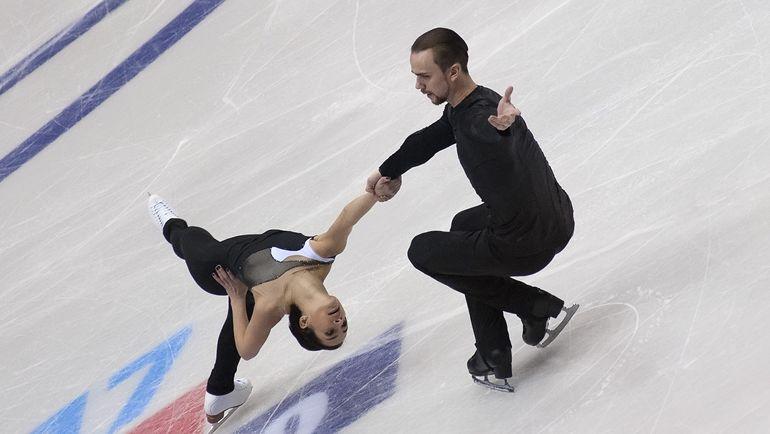 Ксения СТОЛБОВА и Федор КЛИМОВ. Фото Ксения НУРТДИНОВА