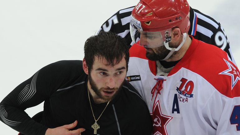 "Никита ПИВЦАКИН (слева). Фото Александр ФЕДОРОВ, ""СЭ"""
