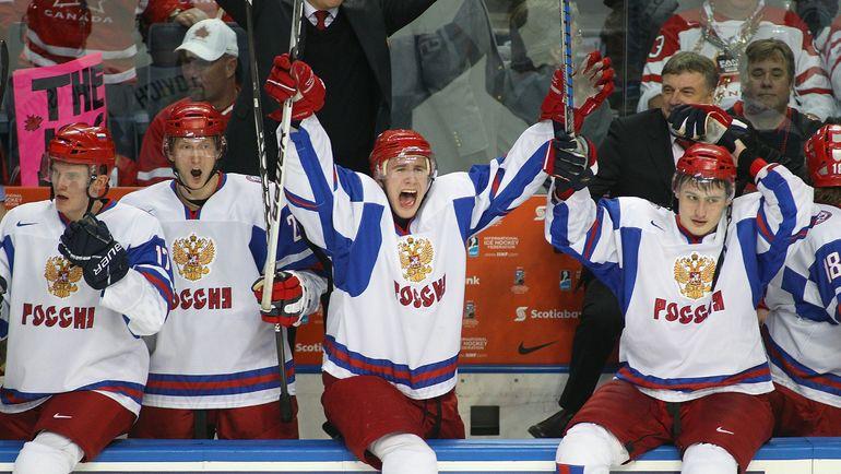 5 января 2011 года. Баффало. Канада (мол.) - Россия (мол.) - 3:5. Через мгновение наша команда станет чемпионом мира. Фото AFP