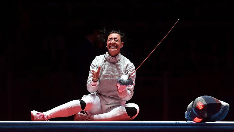 8 августа. Рио-де-Жанейро. Ликование Яны ЕГОРЯН: только что она стала олимпийской чемпионкой. Фото AFP