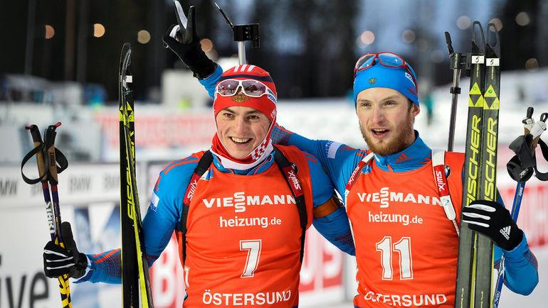 Антон БАБИКОВ (слева) и Максим ЦВЕТКОВ. Фото REUTERS