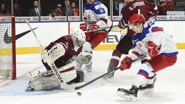 Сегодня. Торонто. Латвия - Россия - 1:9.