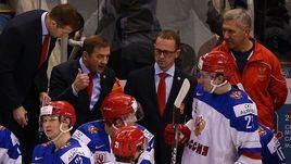 Сегодня. Торонто. Латвия - Россия - 1:9. Валерий БРАГИН и его команда.