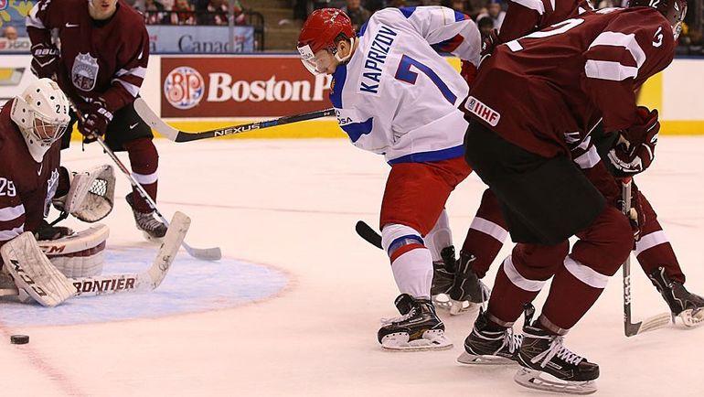 Кирилл КАПРИЗОВ (№7). Фото Федерация хоккея России