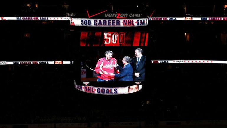 Прямые трансляции главных матчей регулярного чемпионата НХЛ на Eurosport позволяют следить за успехами Александра ОВЕЧКИНА и других россиян в НХЛ. Фото AFP