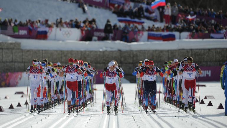 """Eurosport традиционно много показывает зимние виды спорта. Фото Федор УСПЕНСКИЙ, """"СЭ"""""""