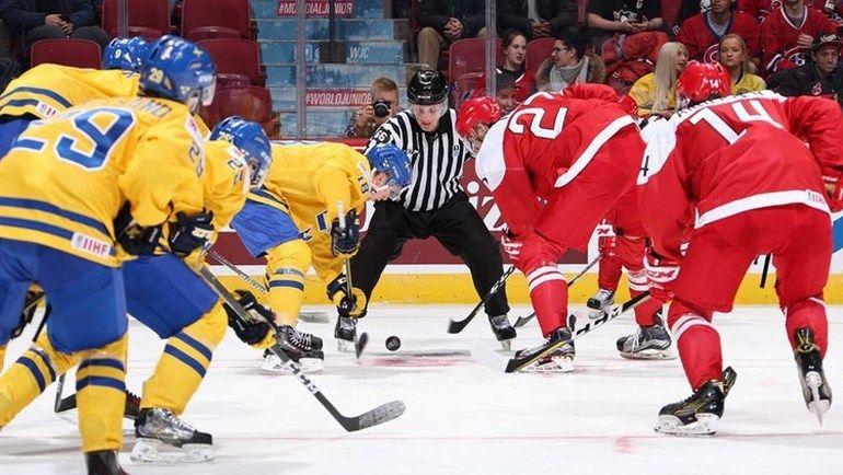 Швеция: не допустить чешской осечки. Фото IIHF