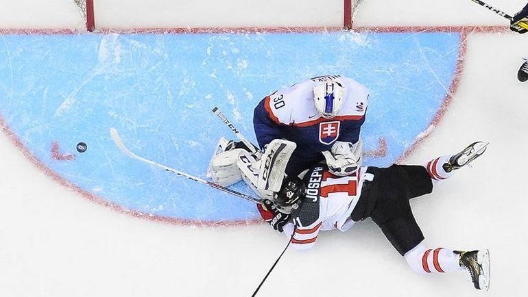 Словакия после матча с Канадой сыграет с США. Фото IIHF