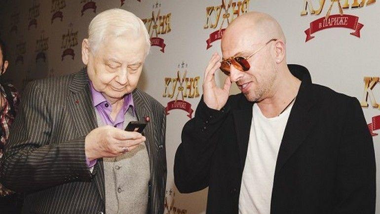Дмитрий НАГИЕВ и Олег ТАБАКОВ. Фото m-rnagiev.ru