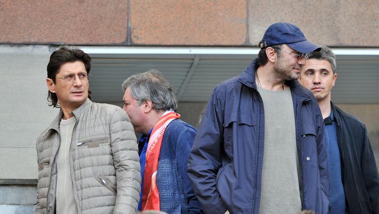 """Сулейман КЕРИМОВ (справа) и Леонид ФЕДУН. Фото Алексей ИВАНОВ, """"СЭ"""""""