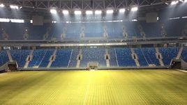 Сегодня. Санкт-Петербург. Стадион на Крестовском острове.