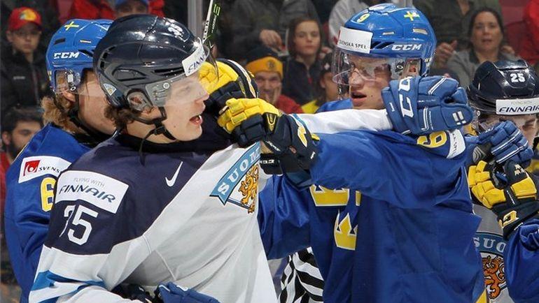 Четверг. Монреаль. Финляндия - Швеция - 1:3. Финнам предстоит битва за выживание. Фото IIHF