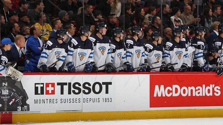 В Канаде сборная Финляндии не смогла выйти даже из группы. Фото IIHF