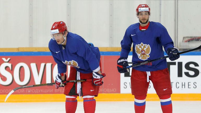 """Александр БУРМИСТРОВ (справа) может перейти в """"Монреаль"""". Фото REUTERS"""