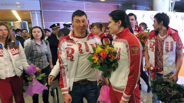 Александр ЛЕГКОВ и Елена НИКИТИНА. Фото Татьяна ДОРОГУТИНА